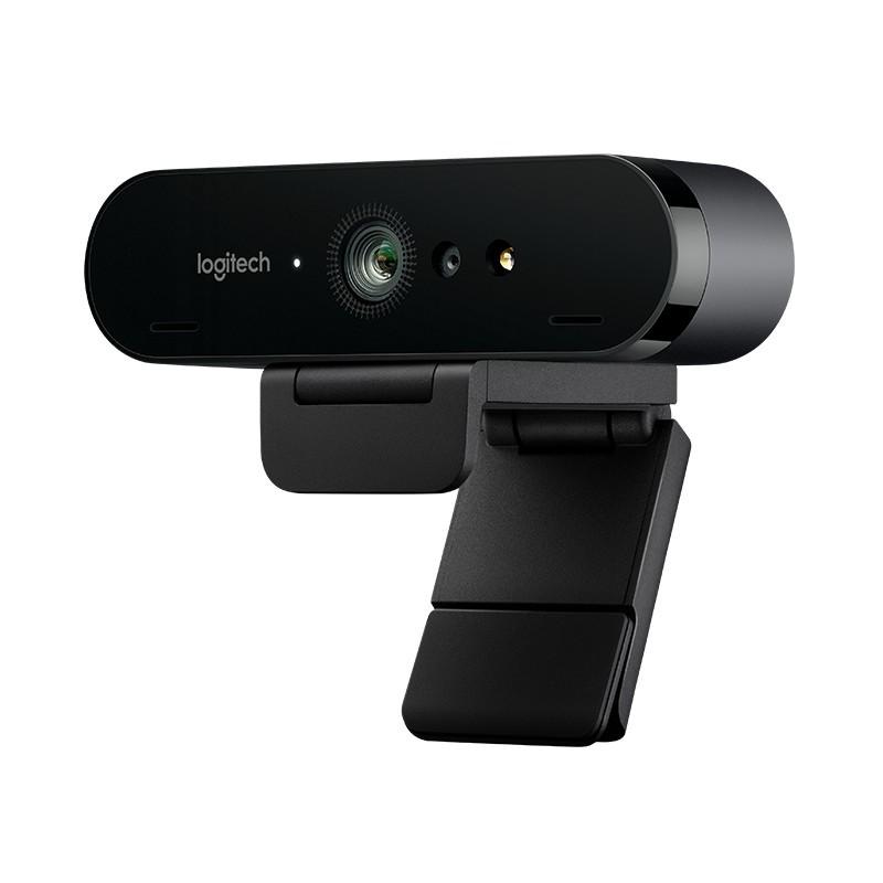 Webcam Logitech Brio 4k UltraHD - Haga streaming de vídeo nitidísimo con resolución, frecuencia de cuadro, color y detalles extraordinarios.