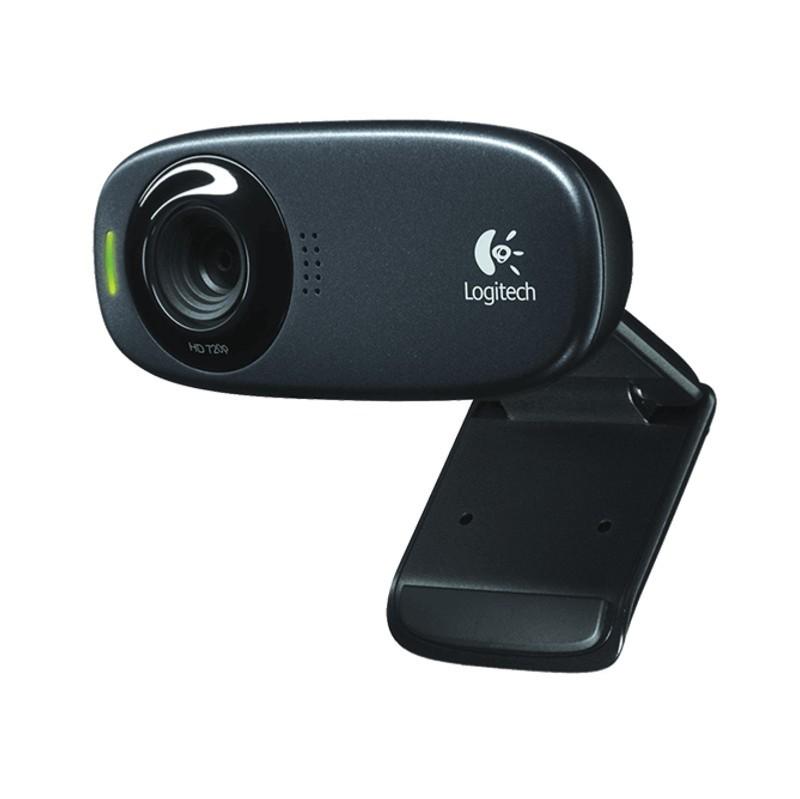 Webcam Logitech HD C310 - Consiga videoconferencias nítidas y fluidas (720p/30fps) en pantalla panorámica con C310HDWebcam. La corrección de luz automática produce colores vibrantes y naturales.