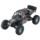 WLtoys 10428-2 1/10 4WD Crawler - Coche RC Eléctrico - Color azul (fondo negro con muchas salpicaduras de pintura) - Hasta 100 metros de alcance - 40 KM/h de velocidad- 4WD (4x4)- 1200 mAh Batería LI-PO - Waterproof (No Sumergible) -Crawler RC Car - Ítem1