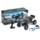 WLtoys 10428-2 1/10 4WD Crawler - Coche RC Eléctrico - Color azul (fondo negro con muchas salpicaduras de pintura) - Hasta 100 metros de alcance - 40 KM/h de velocidad- 4WD (4x4)- 1200 mAh Batería LI-PO - Waterproof (No Sumergible) -Crawler RC Car - Ítem7