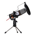 Microfone Condensador Woxter Mic Studio Preto