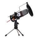 Microfone Condensador Woxter Mic Studio Preto - Item
