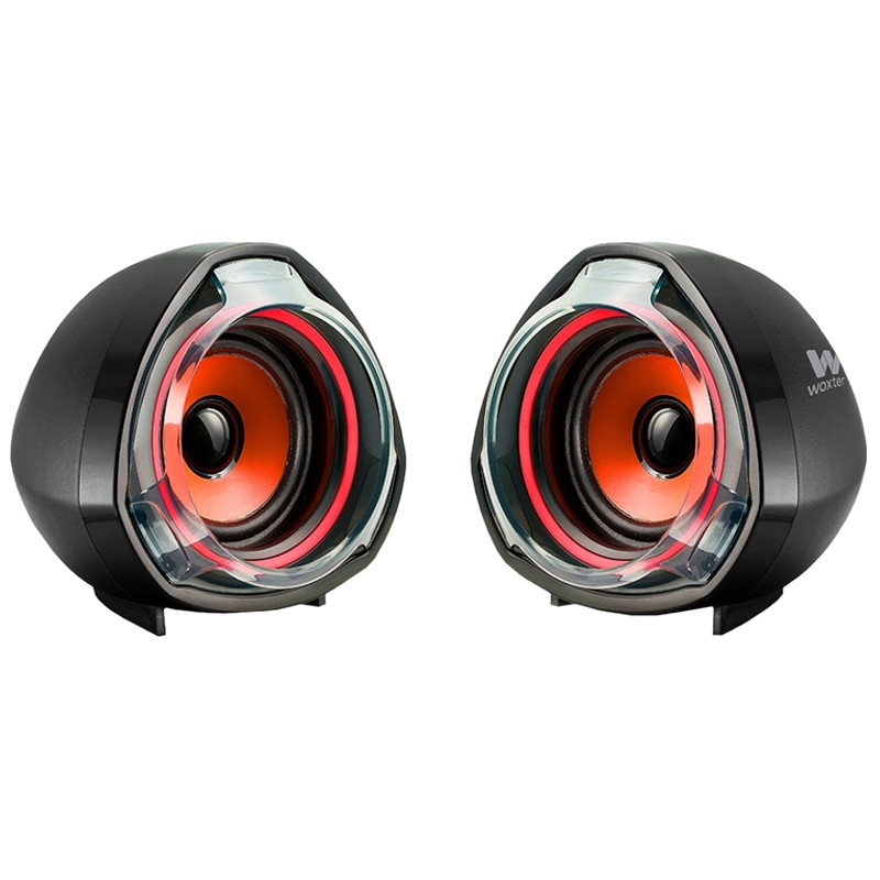 Altavoces Multimedia 2.0 USB Woxter Big Bass 70 Red