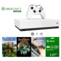 Xbox One S 1TB All Digital + Minecraft + Forza Horizon 3 + Sea of Thieves + 1 Month Xbox Live Gold