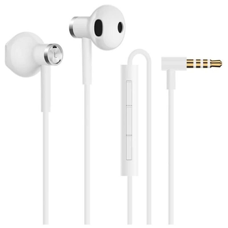 Xiaomi Auriculares Mi Dual Drivers In-Ear - Color Blanco