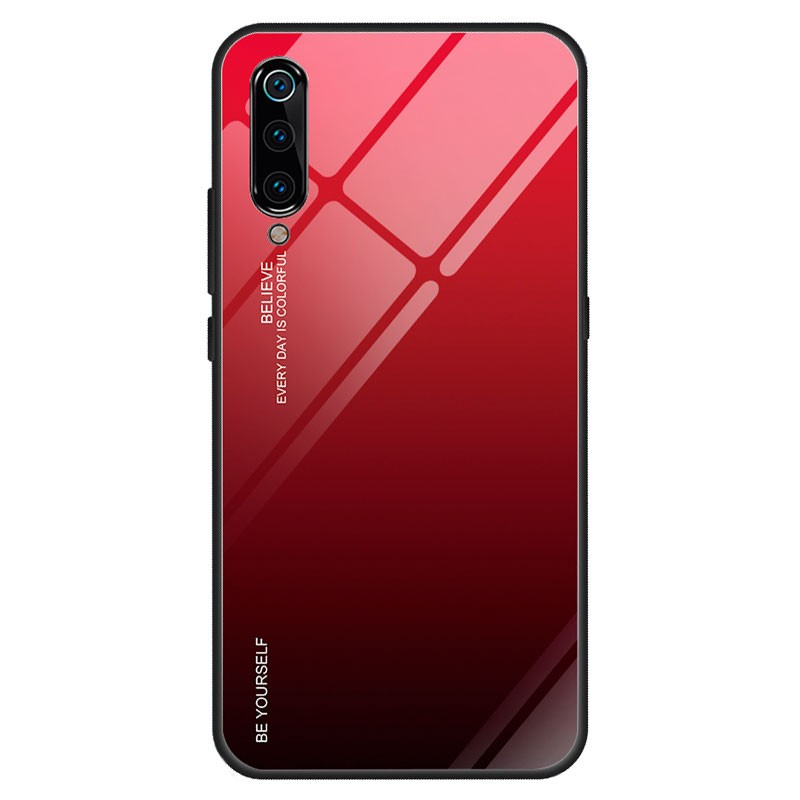 Xiaomi Mi 9 Premium Protection Red Sunset Funda
