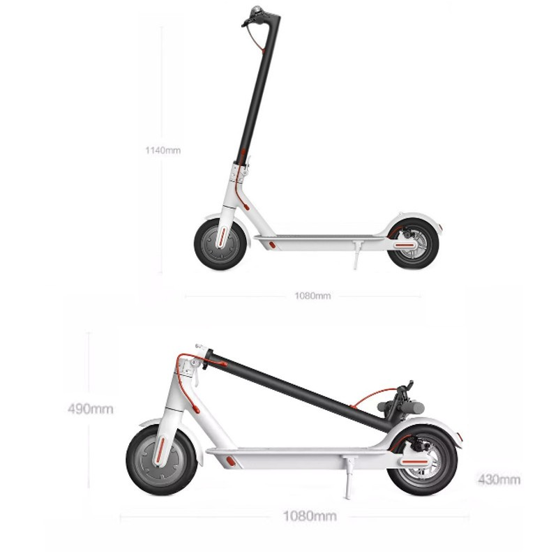 Xiaomi Mi Electric Scooter M365 White Enjoy The Ride By Xiaomi At The Best Price