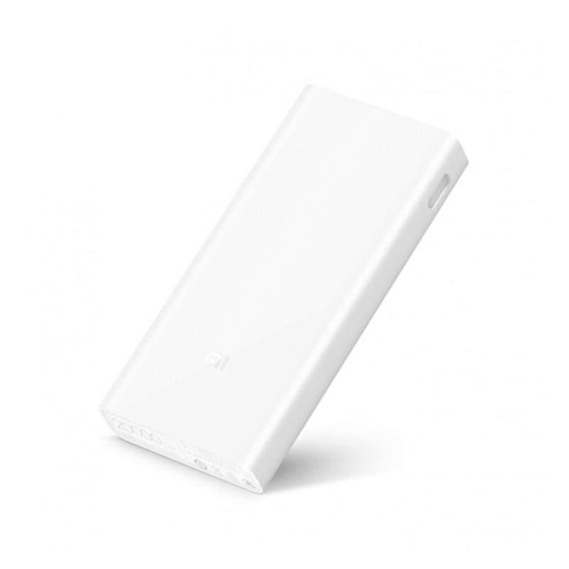 Xiaomi Mi Power Bank 2C 20000 mAh - Power Bank de pé (zona frontal)