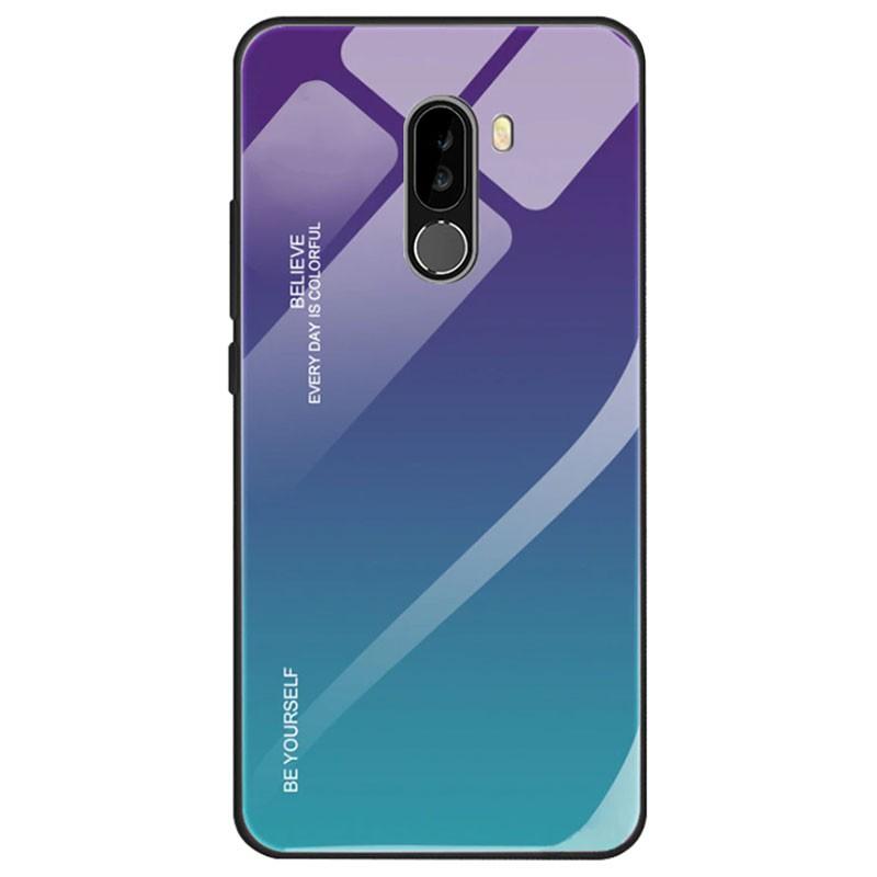 Capa Premium Protection Iridiscent Blue para Xiaomi Pocophone F1