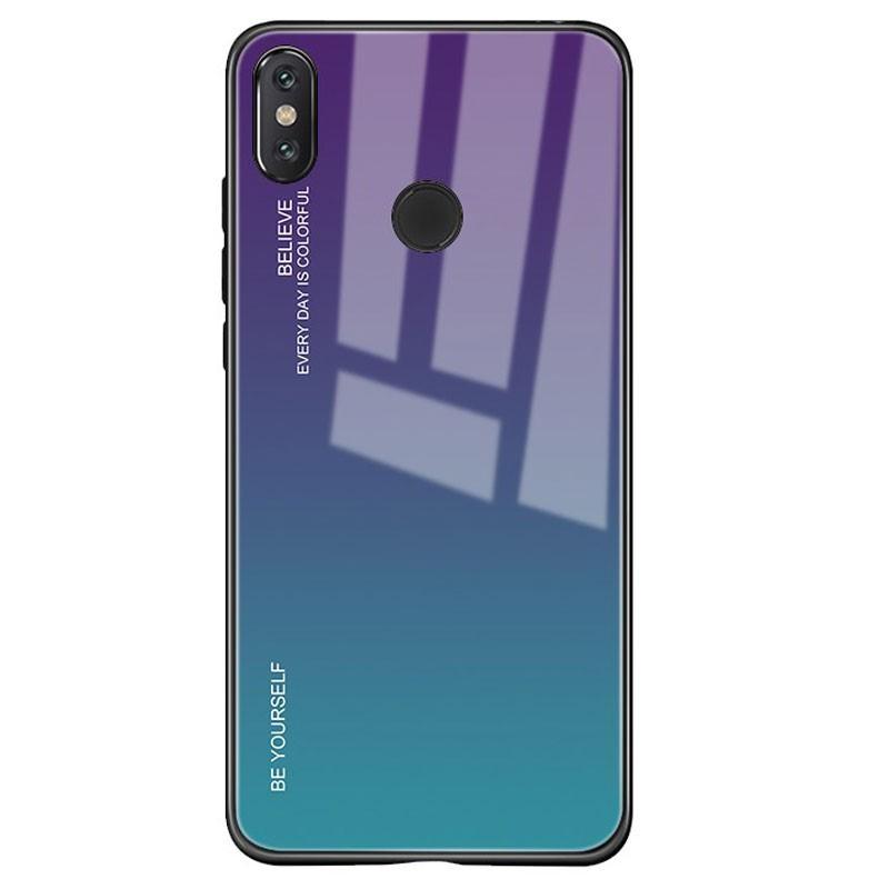 Funda Premium Protection Iridiscent Blue para Xiaomi Mi A2 Lite