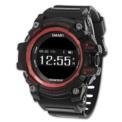 Zeblaze Muscle HR; color rojo, bluetooth 4.0, frecuencia cardíaca, IP67, diseño convencional (botones laterales), diseño robusto y sólido, resistente a deportes extremos