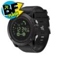 Zeblaze Vibe 3 - Color negro; interfaz delantera (minutero digital)